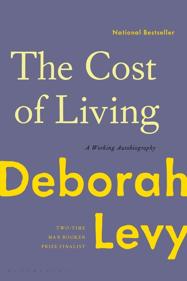 The Cost of Living - A Working Autobiography - cover