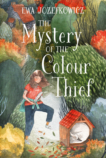The Mystery of the Colour Thief - cover