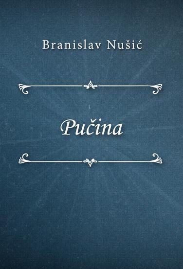 Pučina - cover