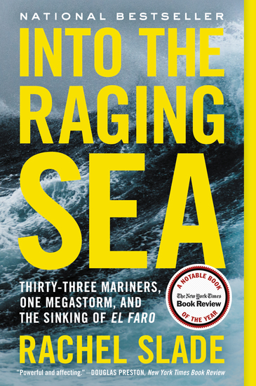 Into the Raging Sea - Thirty-Three Mariners One Megastorm and the Sinking of El Faro - cover