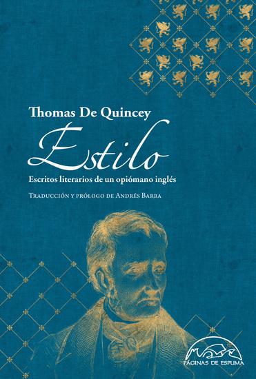 Estilo - Escritos literarios de un opiómano inglés - cover