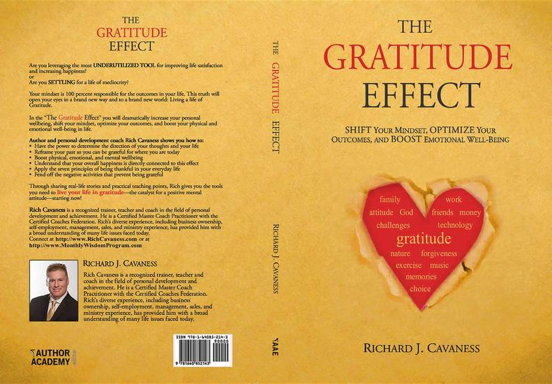 The Gratitude Effect - Shift your mindset Optimize your outcomes and Boost emotional well-being - cover