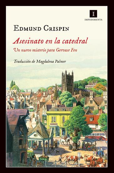 Asesinato en la catedral - Un nuevo misterio para Gervase Fen - cover