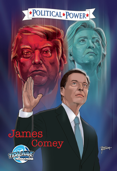 Political Power: James Comey - cover