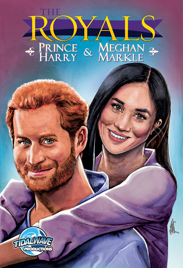 Royals: Prince Harry & Meghan Markle - cover