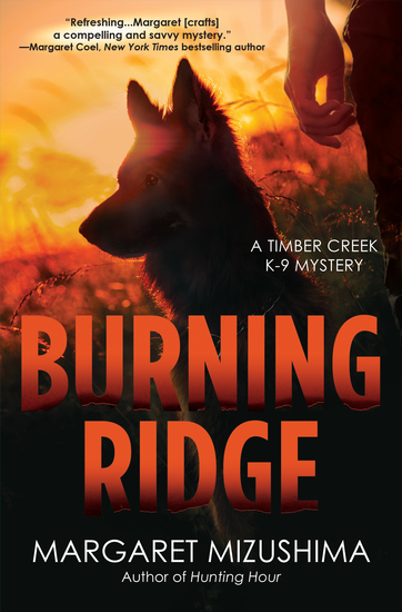 Burning Ridge - A Timber Creek K-9 Mystery - cover