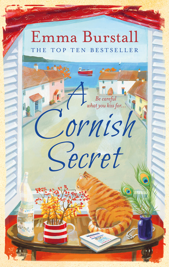 A Cornish Secret - A feelgood romance set in Cornwall - cover