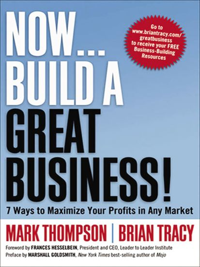 Now Build a Great Business! - 7 Ways to Maximize Your Profits in Any Market - cover