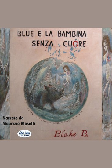 Blue e la bambina senza cuore - cover