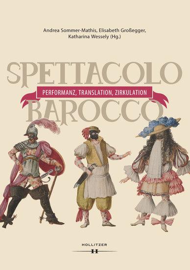 Spettacolo barocco - Performanz Translation Zirkulation - cover