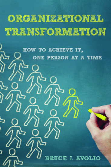 Organizational Transformation - How to Achieve It One Person at a Time - cover