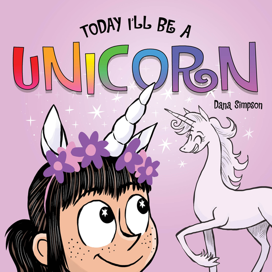 Today I'll Be a Unicorn - cover