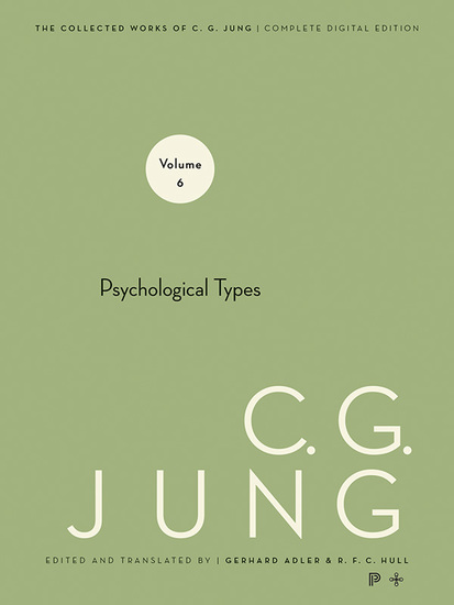 Collected Works of CG Jung Volume 6 - Psychological Types - cover