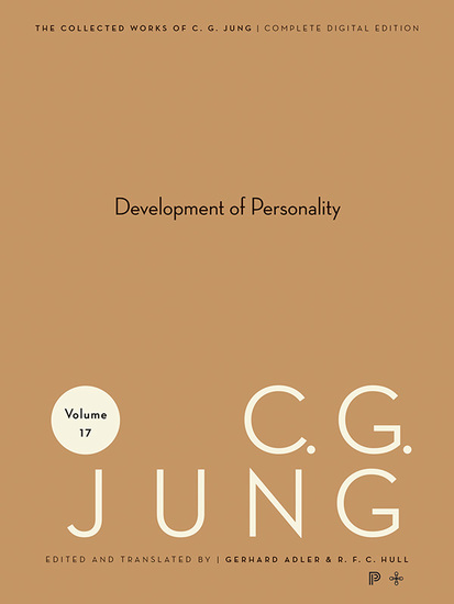 Collected Works of CG Jung Volume 17 - Development of Personality - cover