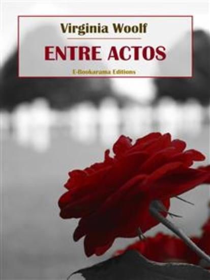 Entre actos - cover