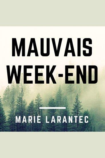 Mauvais week-end - cover