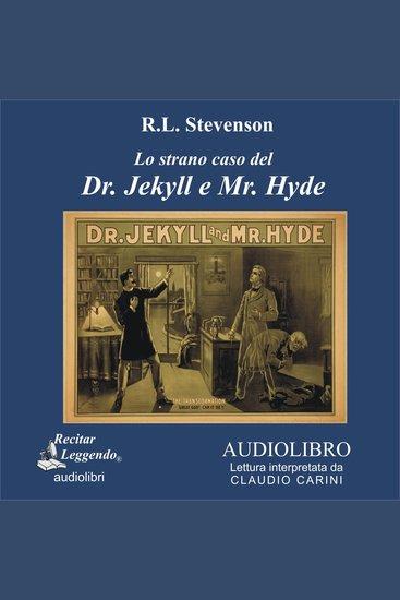 Lo strano caso del Dr Jekyll e Mr Hyde - cover