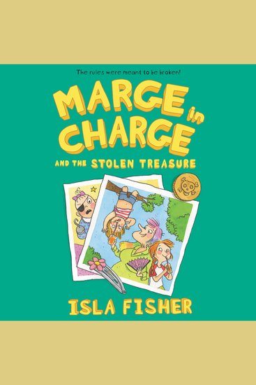 Marge in Charge and the Stolen Treasure - Marge in Charge Book 2 - cover