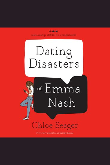 Dating Disasters of Emma Nash - cover