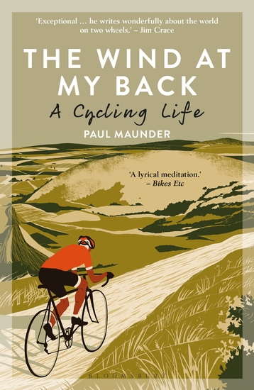 The Wind At My Back - A Cycling Life - cover