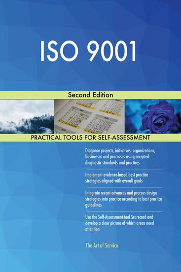 ISO 9001 Second Edition - cover
