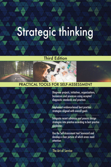 Strategic thinking Third Edition - cover