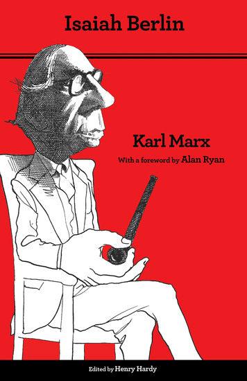 Karl Marx - Thoroughly Revised Fifth Edition - cover