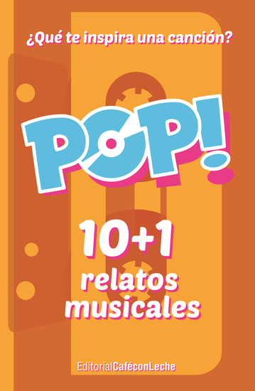 Pop! - 10+1 relatos musicales - cover