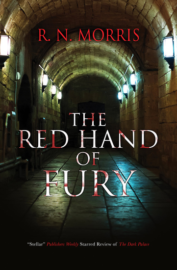 Red Hand of Fury The - A pre-World War One historical mystery - cover