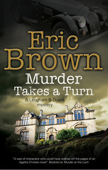 Murder Takes a Turn - A British country house mystery - cover