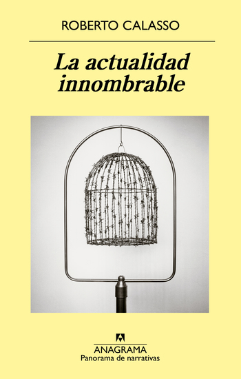 La actualidad innombrable - cover