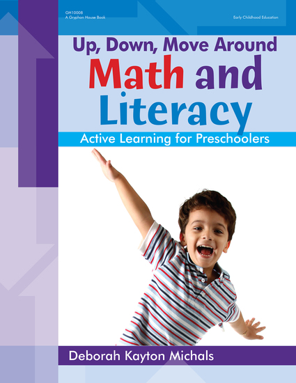 Up Down Move Around -- Math and Literacy - Active Learning for Preschoolers - cover