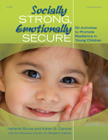 Socially Strong Emotionally Secure - 50 Activities to Promote Resilience in Young Children - cover