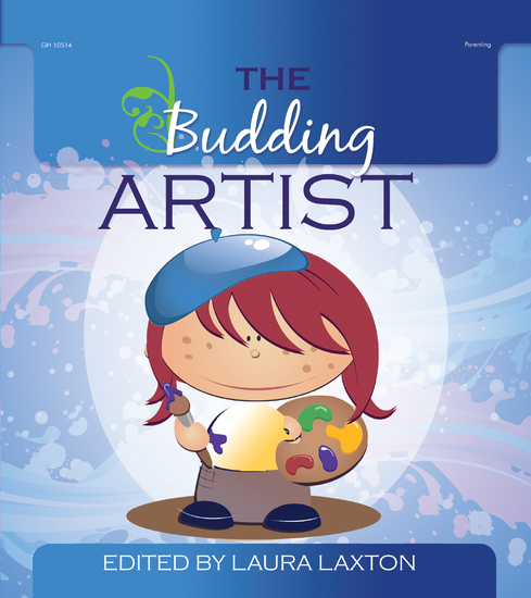 The Budding Artist - cover