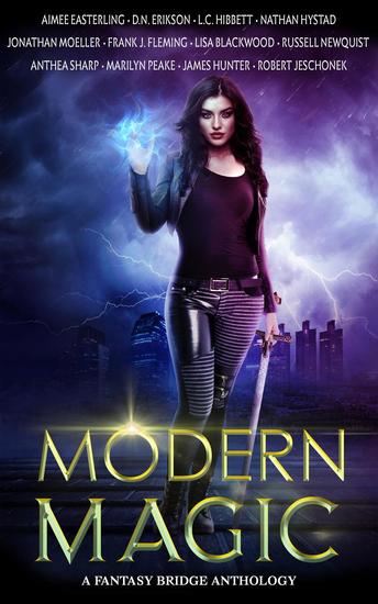 Modern Magic: An Urban Fantasy Anthology - cover