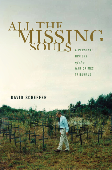 All the Missing Souls - A Personal History of the War Crimes Tribunals - cover