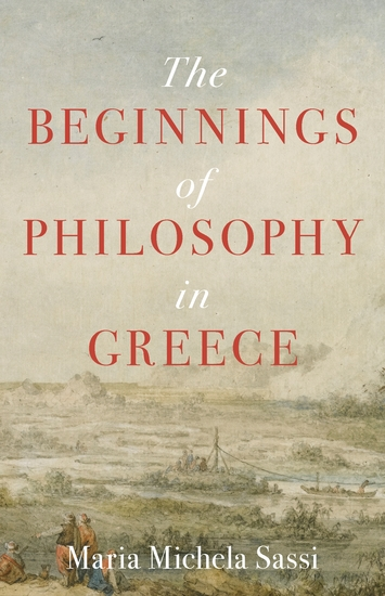 The Beginnings of Philosophy in Greece - cover