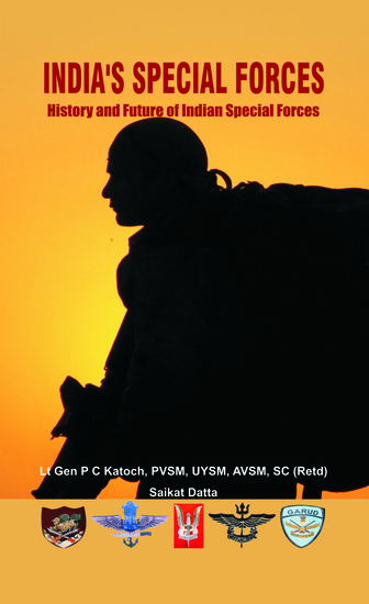 India's Special Forces - History and Future of Special Forces - cover