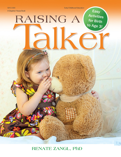 Raising a Talker - Easy Activities for Birth to Age 3 - cover