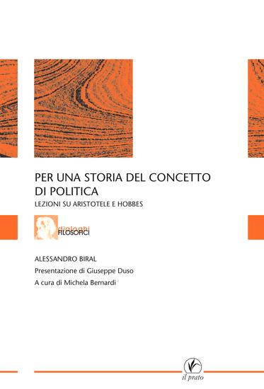 Per una storia del concetto di politica - Lezioni su Aristotele e Hobbes - cover