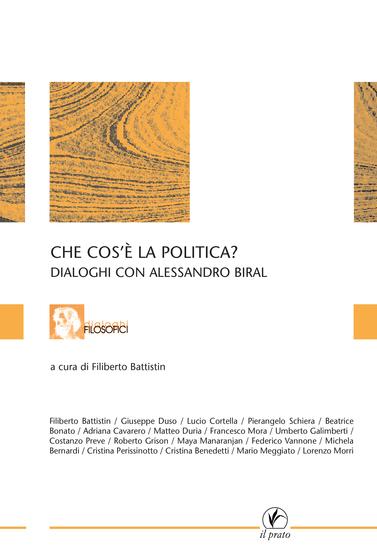 Che cos'è la politica? - Dialoghi con Alessandro Biral - cover
