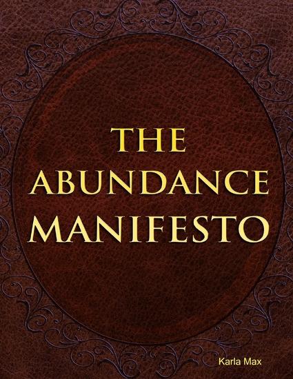 The Abundance Manifesto - cover