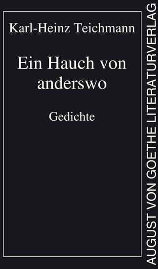 Ein Hauch von anderswo - Gedichte - cover