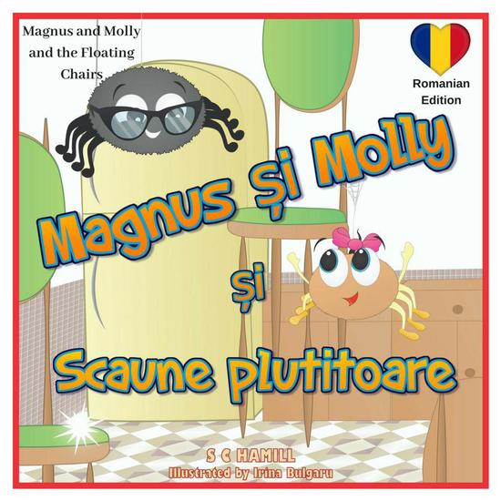 Magnus and Molly and the Floating Chairs Romanian Edition Magnus și Molly si Scaunele Plutitoare - cover