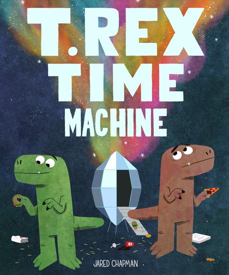 T Rex Time Machine - cover
