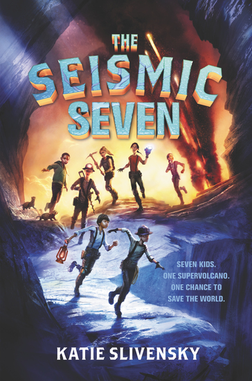 The Seismic Seven - cover