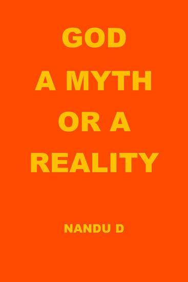 God a Myth or a Reality - cover