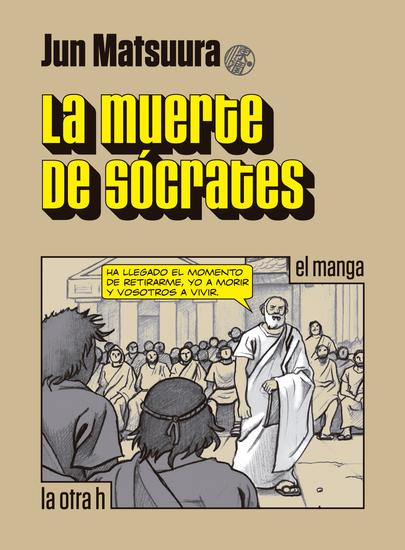 La muerte de Sócrates - el manga - cover