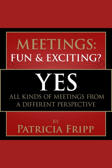 Meetings: Fun & Exciting??? - Yes! All kinds of meetings from a different perspective - cover