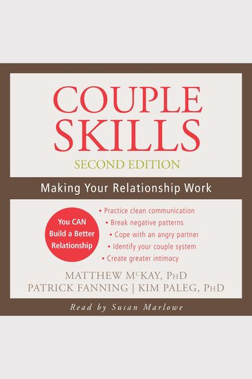 Couple Skills - Making Your Relationship Work - cover